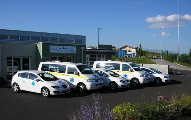 Ambulances des sucs à Yssingeaux